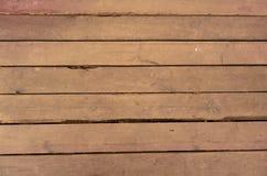 Fond en bois de texture Vieux panneaux piétinés de conseil images libres de droits