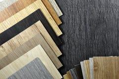 Fond en bois de texture Vue supérieure d'échantillon en bois de matériaux Photographie stock libre de droits