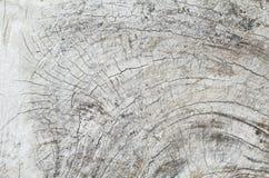 Fond en bois de tronçon de vieux teck Image stock