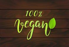 Fond en bois de Vegan Photos libres de droits
