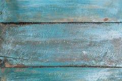 Fond en bois de vintage avec la peinture d'épluchage Photographie stock libre de droits