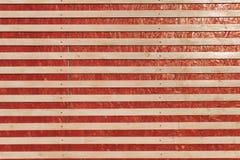 Fond en bois des conseils en bois Rouge Images libres de droits
