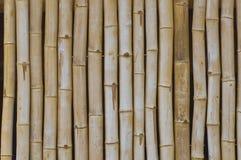 Fond en bois en bambou Photo libre de droits