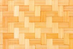 Fond en bois en osier image stock