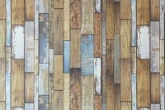 Fond en bois en pastel de texture de planches Fond en bois de vintage Image libre de droits