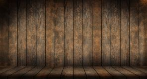 Fond en bois foncé photos stock
