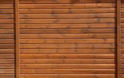 Fond en bois foncé de planches Image stock