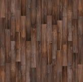 Fond en bois foncé de texture de plancher, texture en bois sans couture images stock