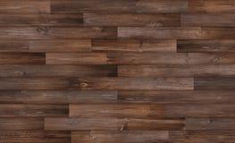 Fond en bois foncé de texture de plancher, texture en bois sans couture Image libre de droits