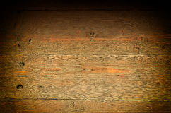 Fond en bois foncé riche Photo libre de droits