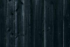 Fond en bois foncé Vieux conseils en bois Texture Photo libre de droits