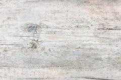 Fond en bois gris âgé de texture Photographie stock libre de droits