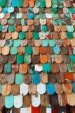 Fond en bois grunge abstrait de texture images libres de droits