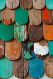 Fond en bois grunge abstrait de texture image libre de droits