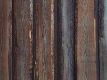 Fond en bois grunge de mur Photo libre de droits