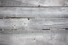 Fond en bois grunge de vieux conseils non peints gris Image libre de droits