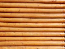 Fond en bois jaune de planches Images libres de droits