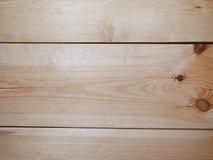 Fond en bois Les conseils horizontaux intelligents Images stock
