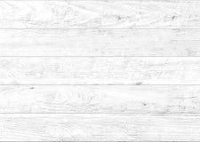 Fond en bois naturel blanc de mur Fond en bois de modèle et de texture photos stock