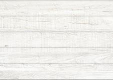 Fond en bois naturel blanc de mur Fond en bois de modèle et de texture photographie stock