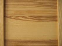 Fond en bois naturel de panneau de cadre photo stock