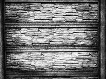 Fond en bois noir et blanc photo stock