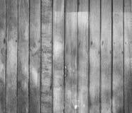 Fond en bois noir et blanc de texture Image stock