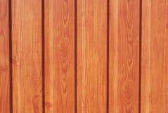 Fond en bois orange de Plank Texture Wall de barrière image stock