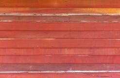 Fond en bois orange de texture de mur photos stock