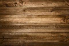Fond en bois parfait de planches Image libre de droits