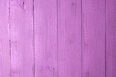 Fond en bois peint par rose Photo libre de droits