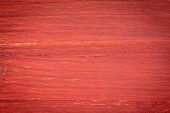 Fond en bois peint par rouge Images stock