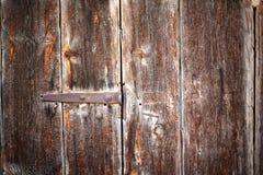 Fond en bois peint par vintage Image libre de droits