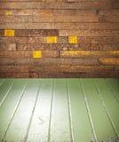 Fond en bois peint rustique photo libre de droits