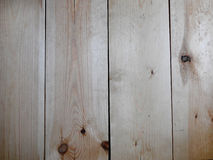 Fond en bois Planches verticales lumineuses Image stock
