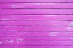 Fond en bois pourpre rose de rayures Image libre de droits