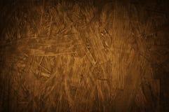 Fond en bois pressé de grunge de texture de carton gris de verrat de particules Image libre de droits