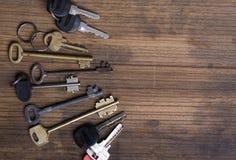 Fond en bois principal Photos libres de droits