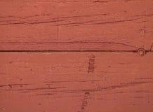 Fond en bois rougeâtre de texture avec les modèles naturels photographie stock