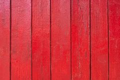 Fond en bois rouge Photos stock