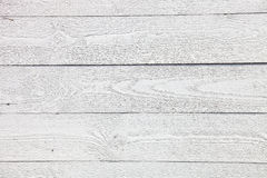 Fond en bois rustique blanc de planches Images stock