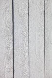Fond en bois rustique blanc de planches Photo libre de droits