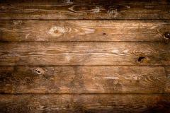 Fond en bois rustique de planches Photographie stock