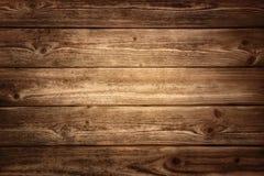 Fond en bois rustique de planches Images libres de droits