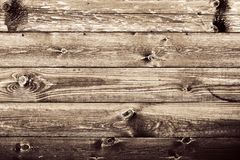 Fond en bois rustique grunge de mur. Photo stock