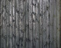 Fond en bois sans couture de planches de cru gris vieux Weathered a fendu le mur avec éplucher la peinture, fond abstrait photo stock