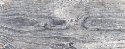 Fond en bois superficiel par les agents par gris Photographie stock