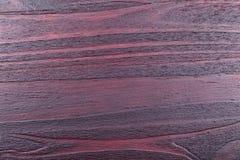 Fond en bois verni par acajou sans ponçage image stock