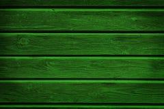 Fond en bois vert photographie stock libre de droits