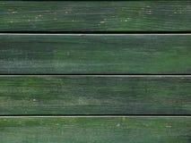 Fond en bois vert Images libres de droits